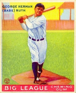 Babe Ruth Baseball Card Review