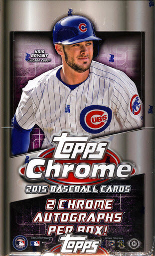 Topps Chrome Baseball 2015 Box Break-Review