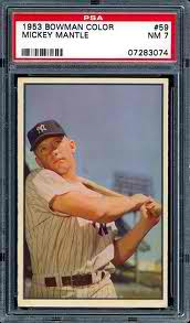 Ranking the Population of Early Mantle Cards
