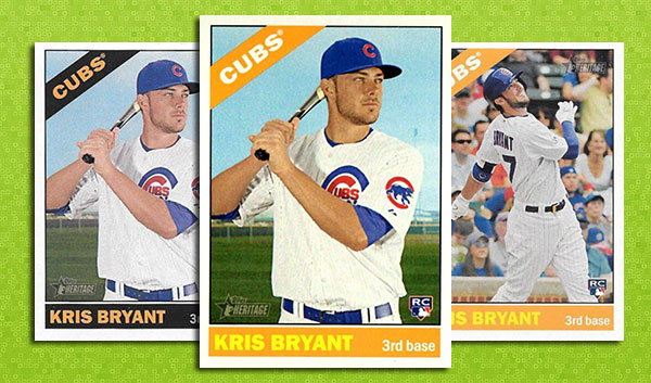 2015 Topps Heritage High Number Variations Info, Gallery